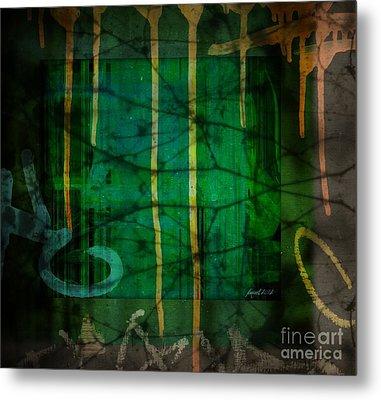 It Runneth Over Metal Print by Fania Simon