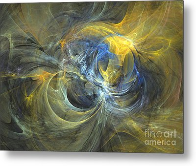 It Sure Was An Expressive Feeling - Abstract Art Metal Print