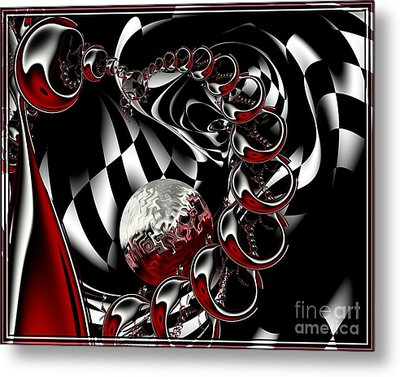 It Takes Imagination Metal Print by Michelle H