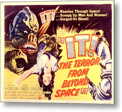 It The Terror From Beyond Space, 1958 Metal Print by Everett