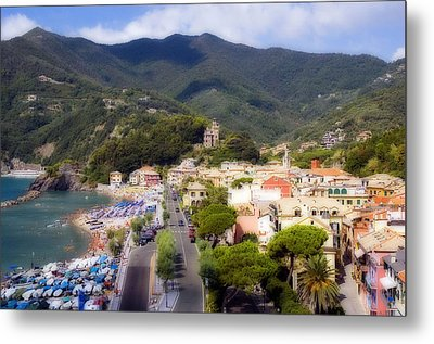 Italian Riviera Metal Print by Rod Jones
