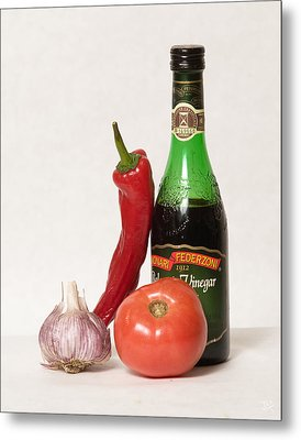Metal Print featuring the photograph Italian Still Life by Jim  Arnold