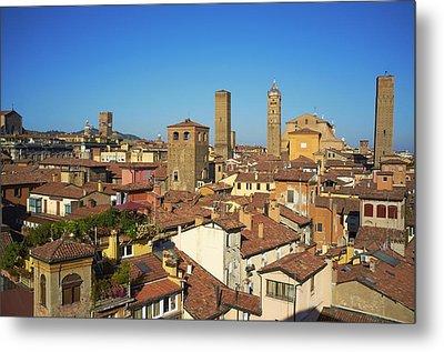 Italy, Emilia-romagna, Bologna, Cityscape Metal Print by Bruno Morandi