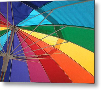 Metal Print featuring the photograph It's A Rainbow by David Pantuso