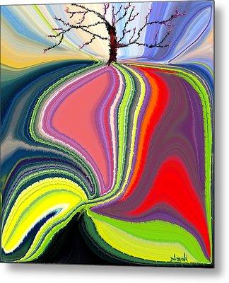Its A Tree's Life Metal Print by Renate Nadi Wesley