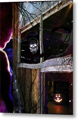 It's The Night When... Metal Print by Shirley Sirois