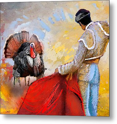 Its This Or The Oven Metal Print by Miki De Goodaboom