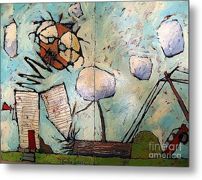 Jack In The Box Metal Print by Charlie Spear