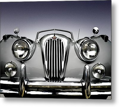 Jag Convertible Metal Print by Douglas Pittman