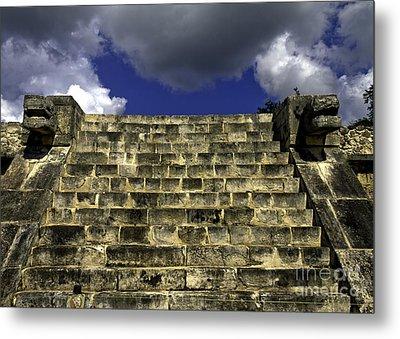Jaguar Stairway Two Metal Print