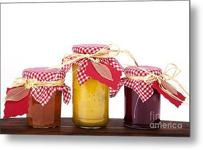 Jam Jelly And Pickle Metal Print