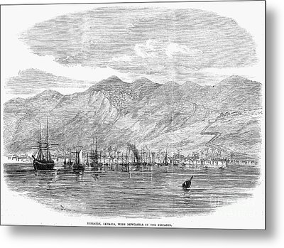 Jamaica: Kingston, 1865 Metal Print by Granger