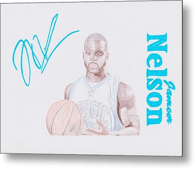 Jameer Nelson Metal Print by Toni Jaso