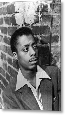James Baldwin, 1953 Metal Print