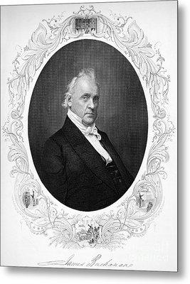 James Buchanan (1791-1968) Metal Print by Granger