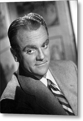 James Cagney, Portrait, 1940s Metal Print by Everett