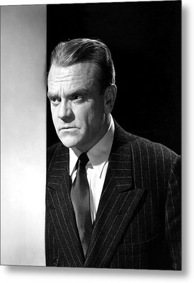 James Cagney, Portrait, 1950s Metal Print by Everett