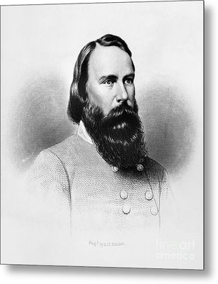 James Longstreet (1821-1904) Metal Print