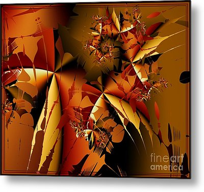 Jamming In Autumn Metal Print by Michelle H