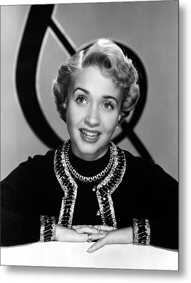 Jane Powell, Mgm, Early 1950s Metal Print by Everett
