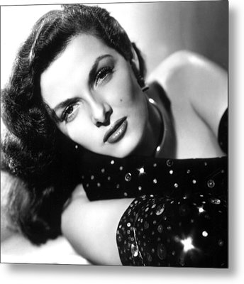 Jane Russell, Ca. Late 1940s Metal Print by Everett