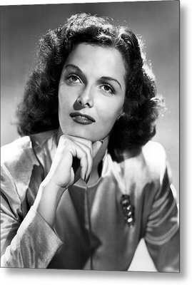 Jane Russell, Portrait Circa 1947 Metal Print by Everett