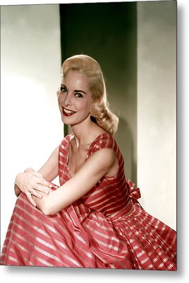 Janet Leigh In The 1950s Metal Print