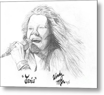 Janis Metal Print by Windy Mountain