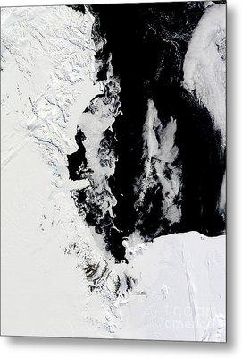 January 18, 2010 - Ross Sea, Antarctica Metal Print by Stocktrek Images