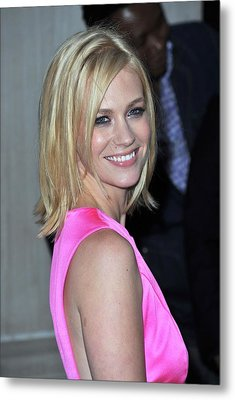 January Jones At Arrivals For Tommy Metal Print by Everett