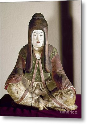 Japan: Statue, 9th Century Metal Print by Granger