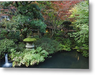 Japan Tokyo Japanese Garden Metal Print by Rob Tilley