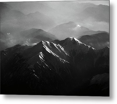 Japanese Alps Metal Print by José Rentería Cobos photography