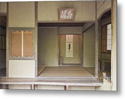 Japanese Tea Room Metal Print by Rob Tilley