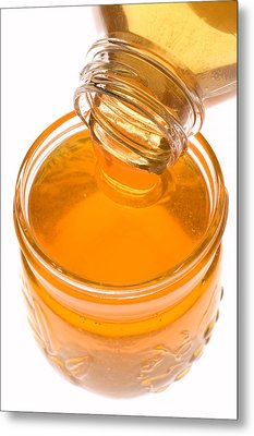 Jar Of Honey Metal Print by Garry Gay