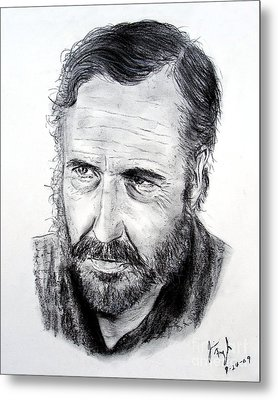 Jason Robards Metal Print by Jim Fitzpatrick