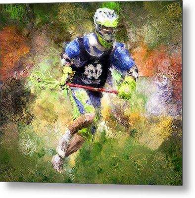 Jaxx Lacrosse 2 Metal Print