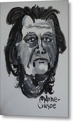 Jay - Self Metal Print by Jay Manne-Crusoe