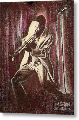 Jazz Metal Print by Anastasis  Anastasi