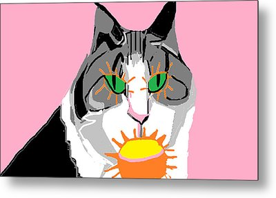 Jazzy Get Well Metal Print by Anita Dale Livaditis