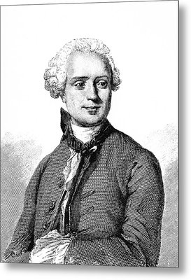Jean D'alembert, French Mathematician Metal Print by