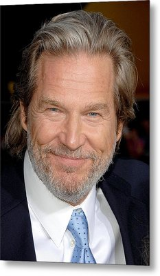 Jeff Bridges At Arrivals For Premiere Metal Print by Everett