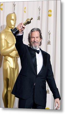 Jeff Bridges, Best Actor For Crazy Metal Print by Everett