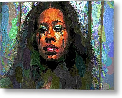 Metal Print featuring the photograph Jemai by Alice Gipson