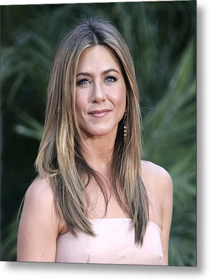 Jennifer Aniston At Arrivals For The Metal Print by Everett