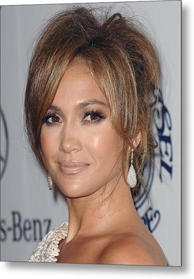 Jennifer Lopez At Arrivals For 32nd Metal Print by Everett