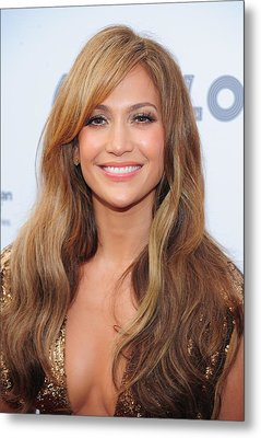 Jennifer Lopez At Arrivals For Apollo Metal Print by Everett