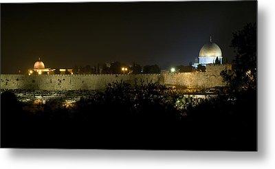 Jerusalem- City On A Hill Metal Print