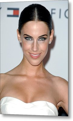 Jessica Lowndes At Arrivals For 17th Metal Print by Everett