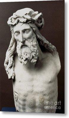 Jesus: Crucifixion Metal Print by Granger
